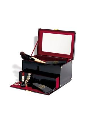 奢华黑金彩妆箱