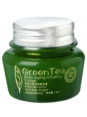 绿茶抗氧活肤精华霜