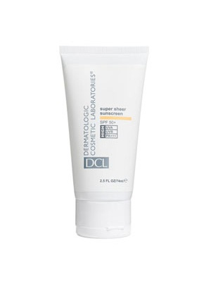 New Super Sheer Sunscreen SPF 50+ PA+++