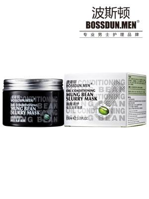 油脂调护绿豆泥浆面膜