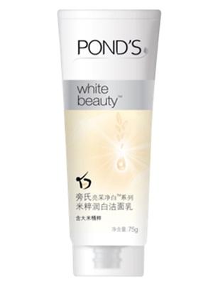 亮彩净白系列米粹润白洁面乳